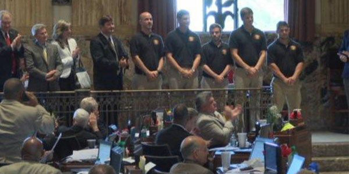 LSU engineers honored by astronaut at State Capitol