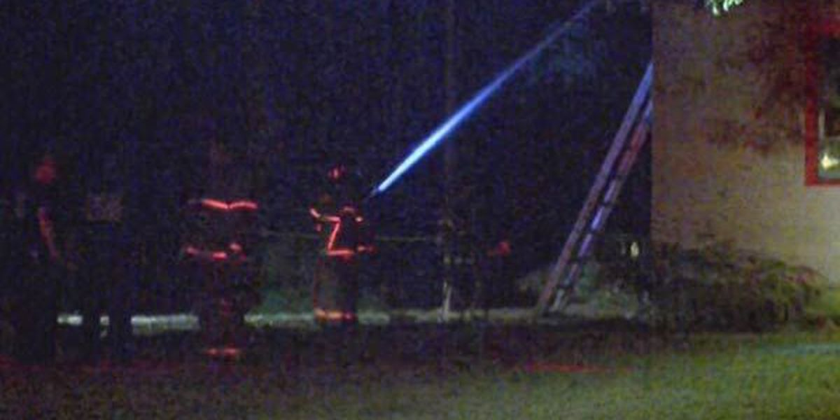 Firefighters investigate blaze at vacant house