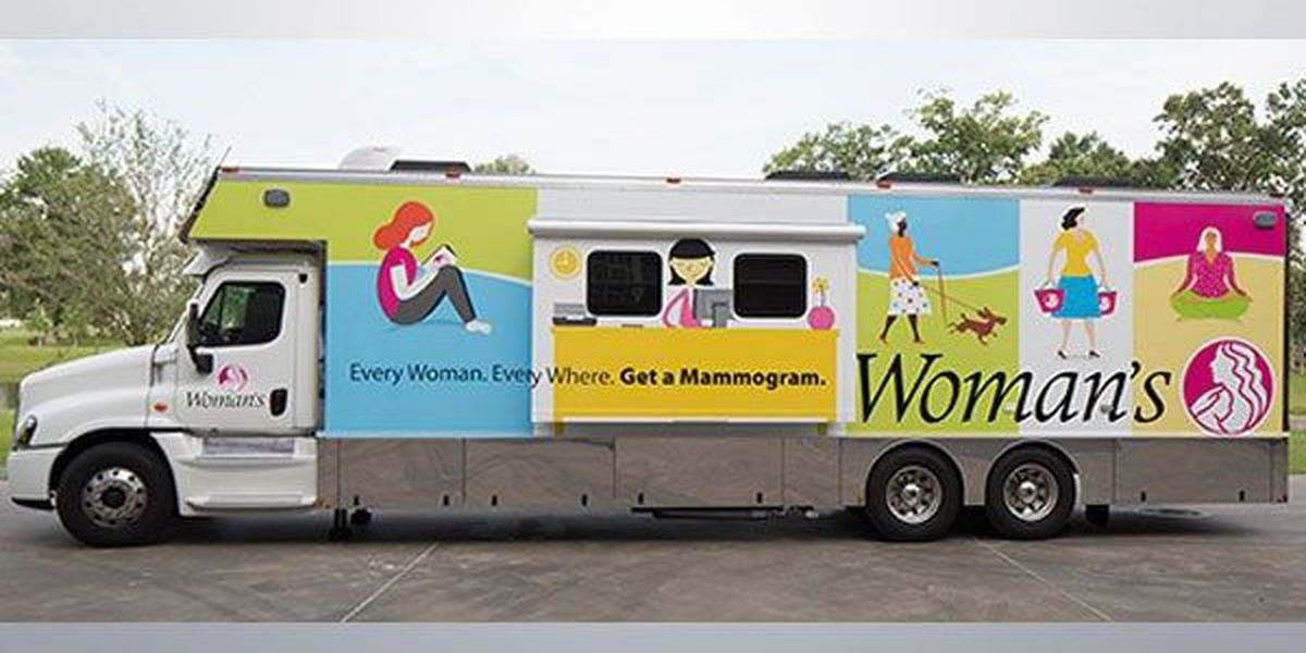 Mobile mammogram bus to provide screenings for patients without insurance