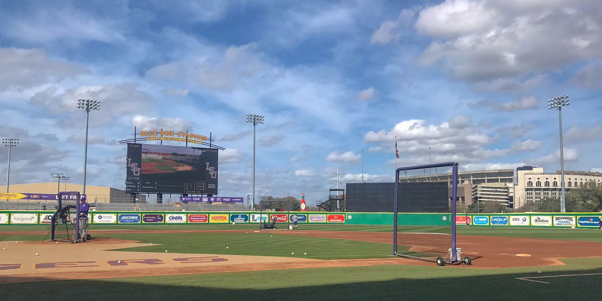 No. 1 LSU baseball opens season against ULM
