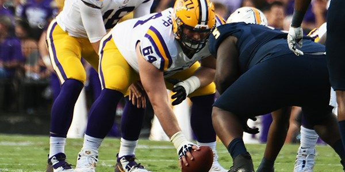 LSU losing another offensive lineman to the NFL Draft