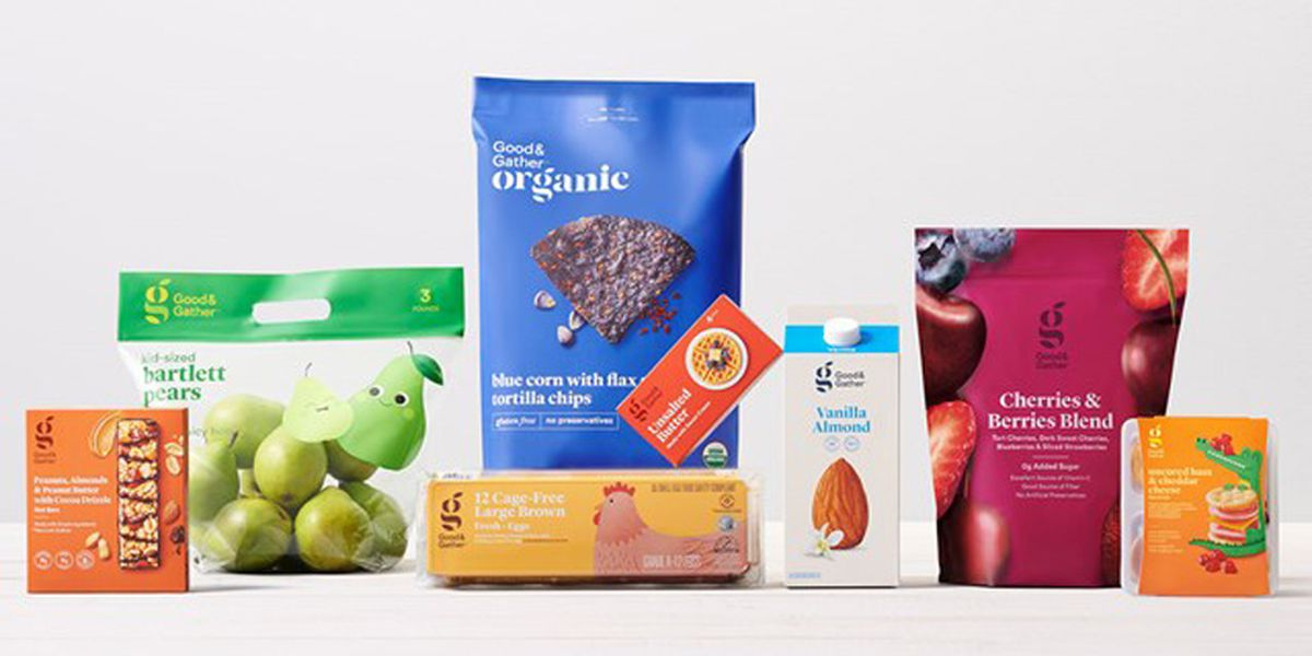 Target launching new food brand with more than 2000 items