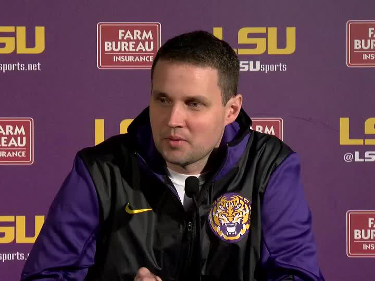 LSU head coach Will Wade recaps upset win over No. 5 Kentucky, previews game against Georgia