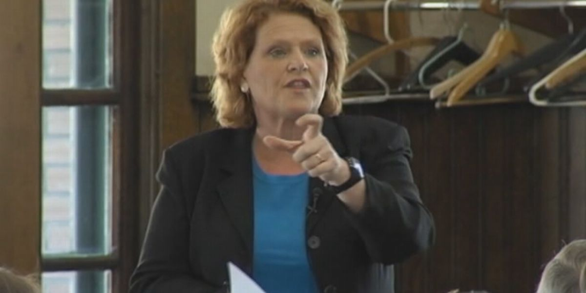 Sen. Heidi Heitkamp apologizes for ad that mistakenly identified women as sexual assault survivors