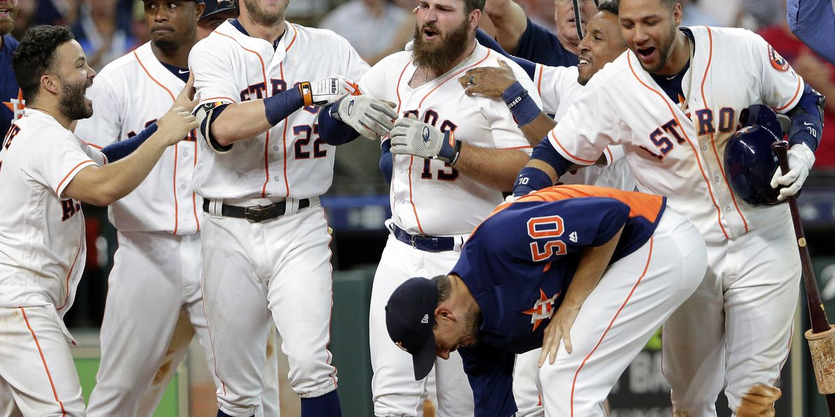 White's 9th inning shot powers Astros over A's 5-4