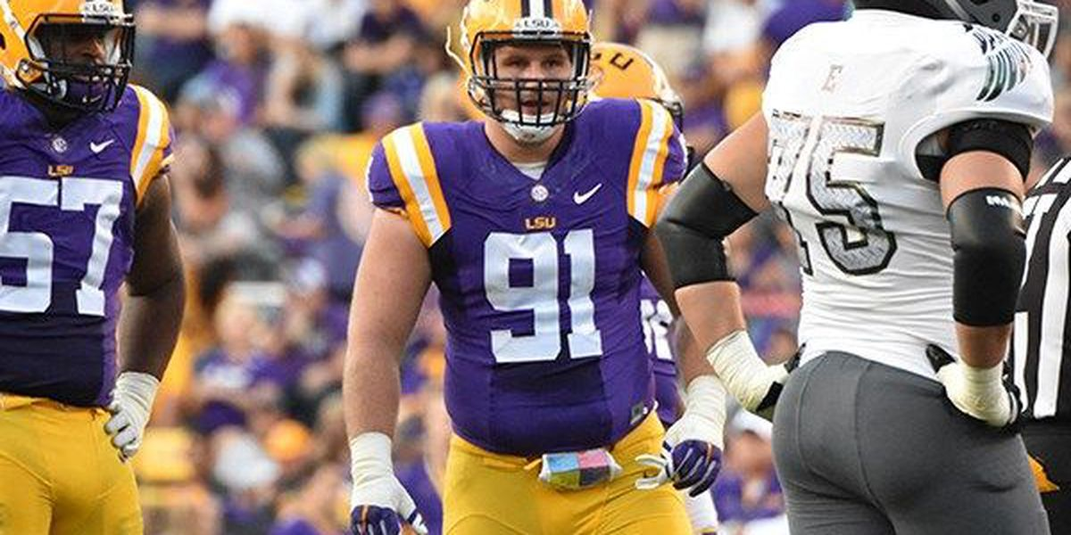 Christian LaCouture will wear No. 18 for LSU