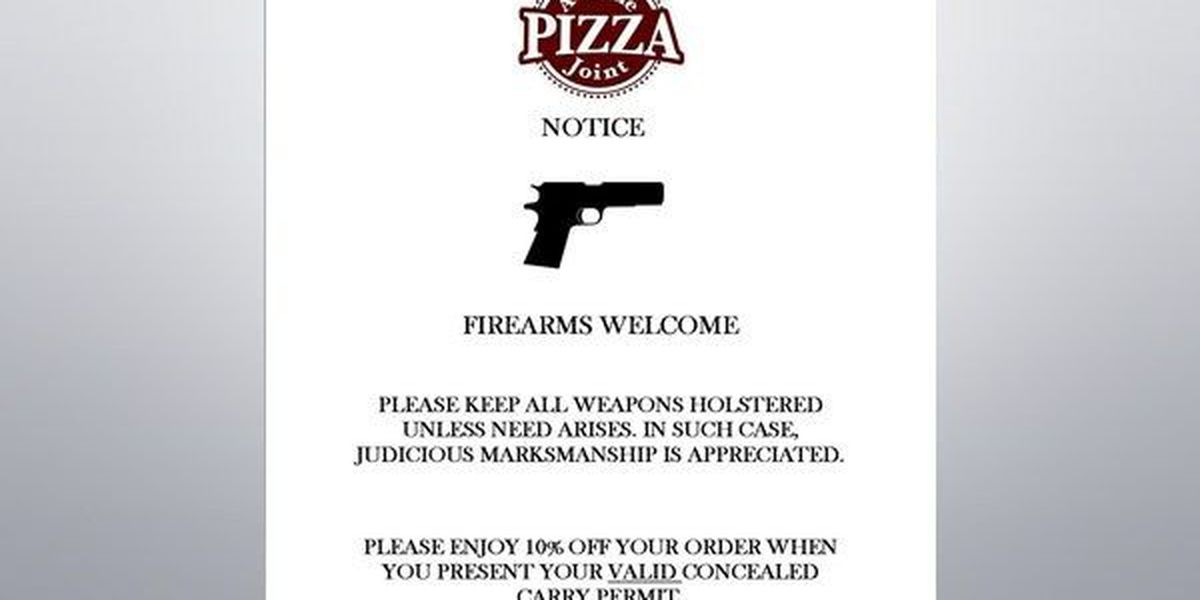 The story of A Little PIZZA Joint tells more than just a concealed-carry discount