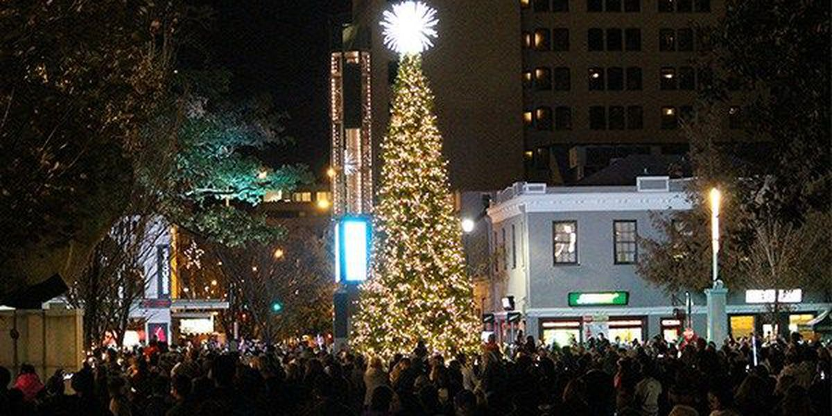 Christmas tree lighting held downtown at Festival of Lights