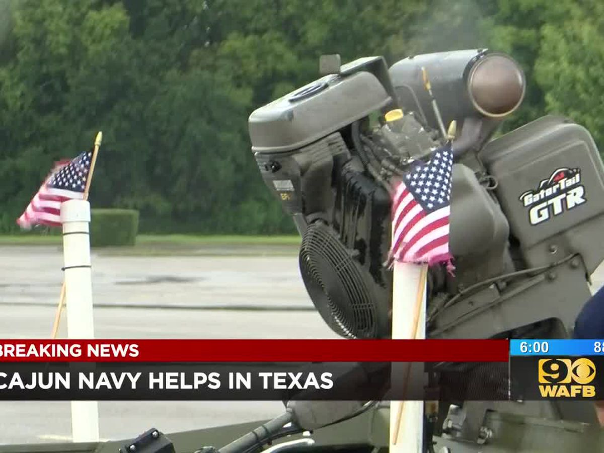 Members of Cajun Navy 2016 drop everything to help residents in southeast Texas