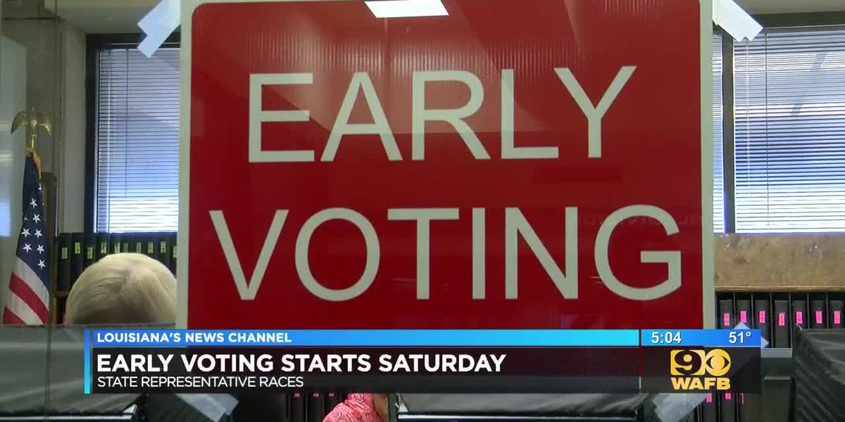 Early voting starts Sat. for special elections in multiple parishes