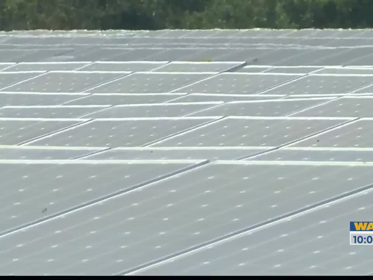 West Baton Rouge officials discuss new solar panels