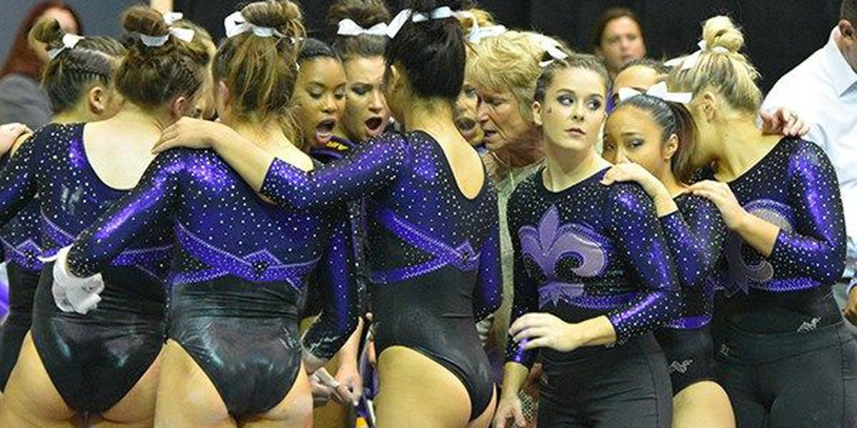 Oklahoma and LSU top gymnastics poll