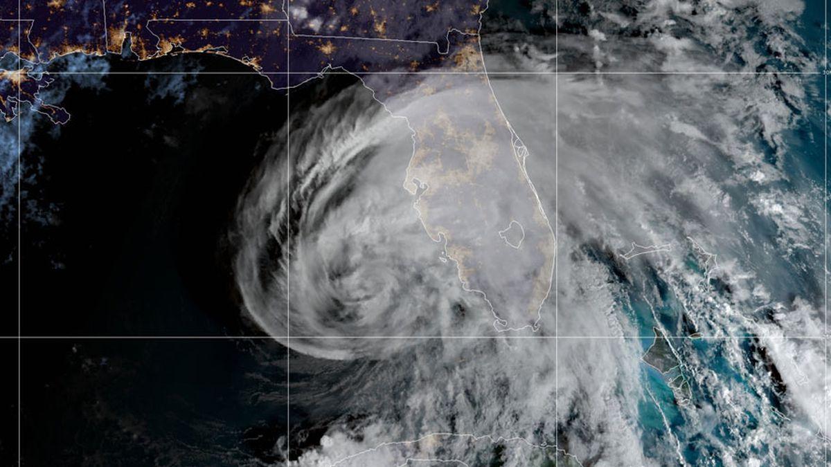 Eta remains a tropical storm as Florida prepares for 2nd hit