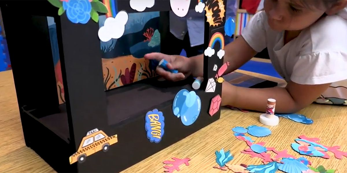 BR toy company, businesses team up to help keep kids busy