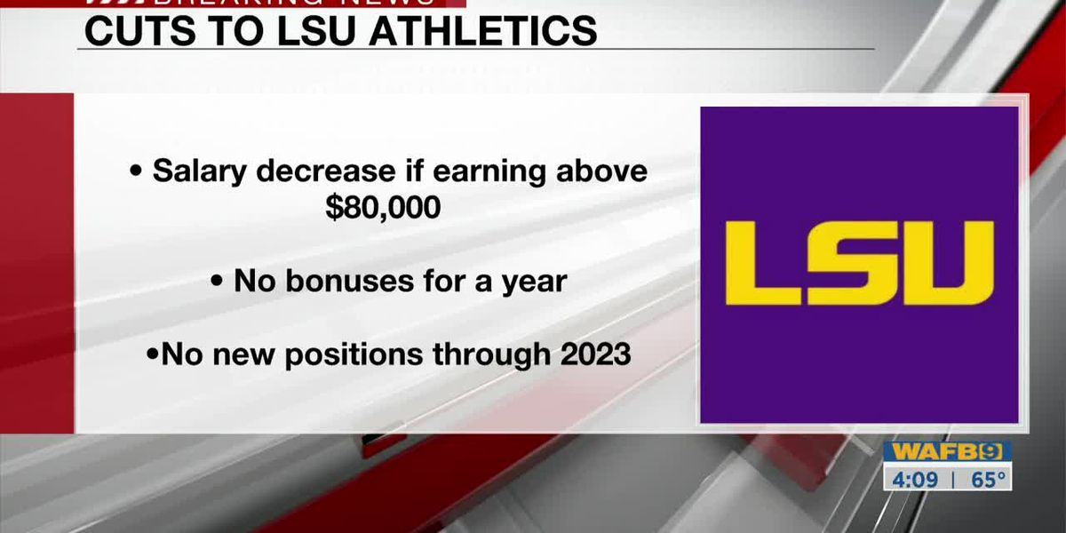 LSU Athletics announces layoffs, pay cuts due to COVID-19 pandemic