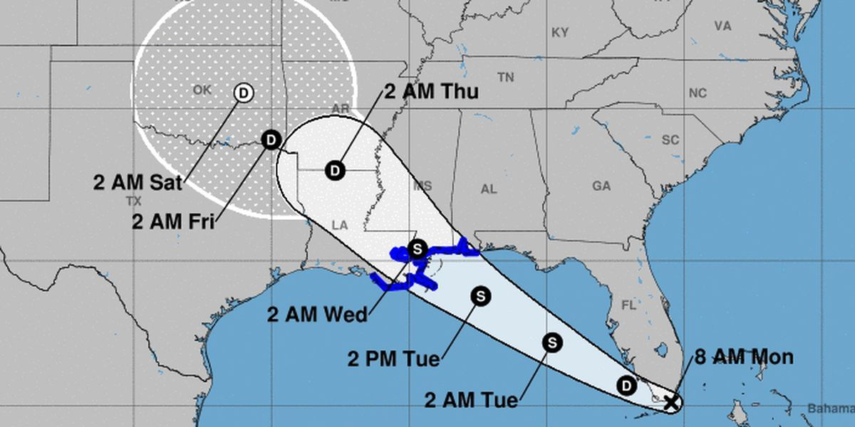 TS Gordon could bring heavy rain to the ArkLaTex