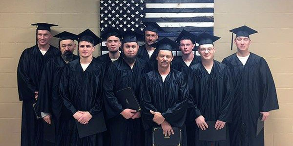 Ten Livingston Parish inmates earn high school diplomas while serving their sentences