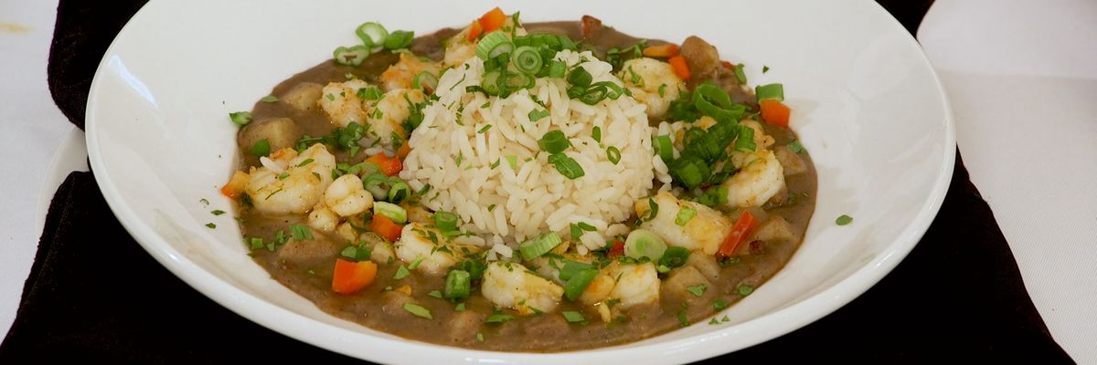 Mamere's Potato, Shrimp, and Andouille Stew