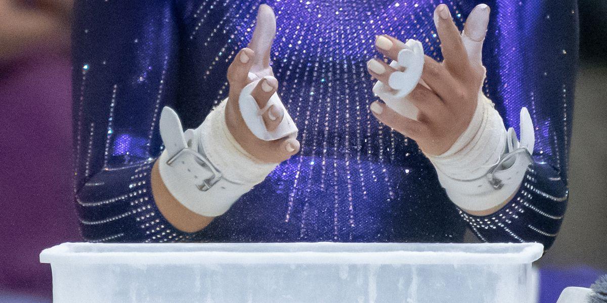 LSU gymnastics beats Georgia in top 10 matchup