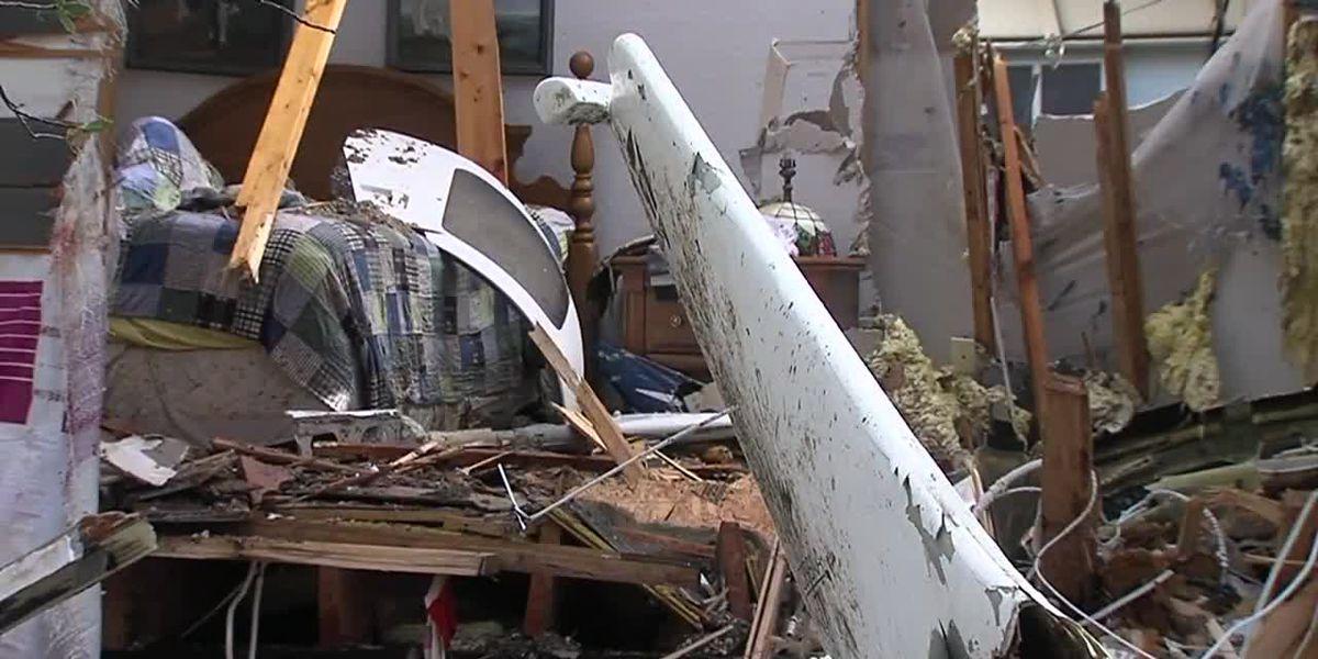 Man survives plane crashing into house; pilot dies