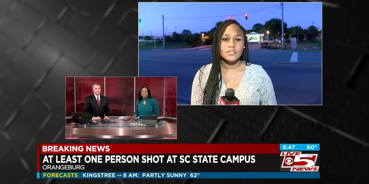 VIDEO: At least 1 student injured in early-morning shooting at SC State