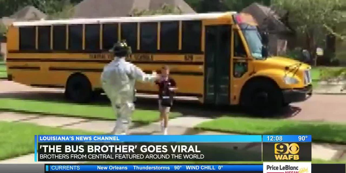 'The Bus Brother' from Central goes viral with uplifting message