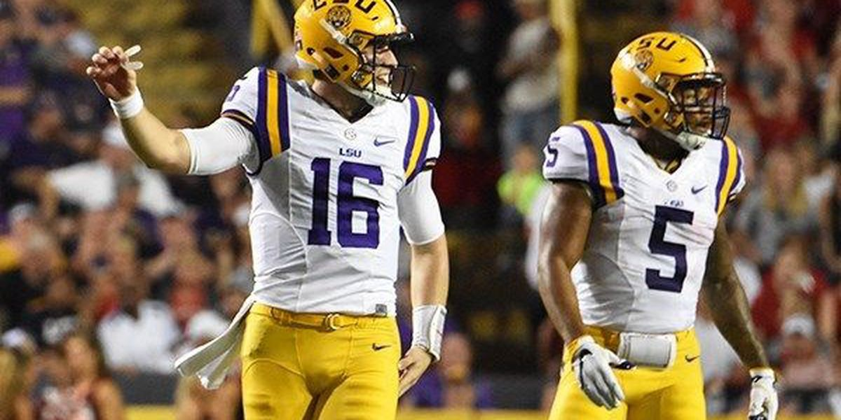 LSU will start the season at No. 13 in the Associated Press Preseason Top 25