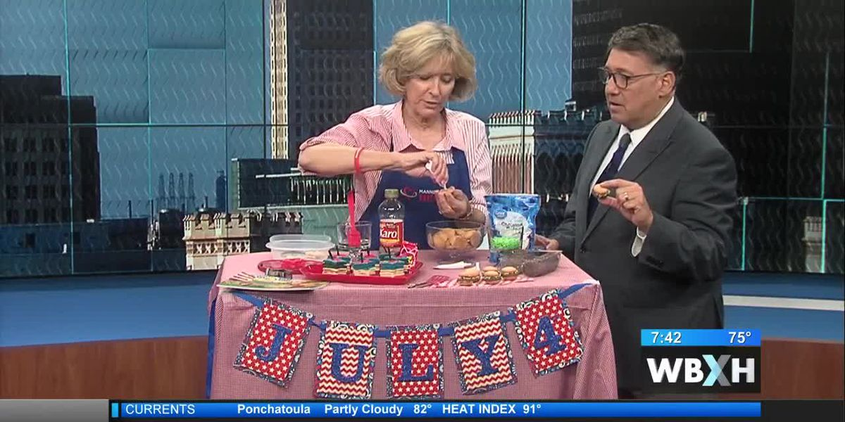 COMMUNITY - How to make Fourth of July-themed treats