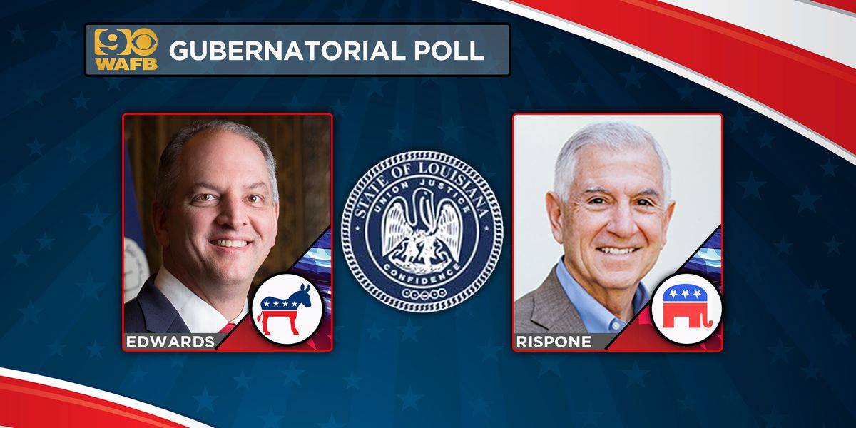 Exclusive WAFB gubernatorial poll results released Monday