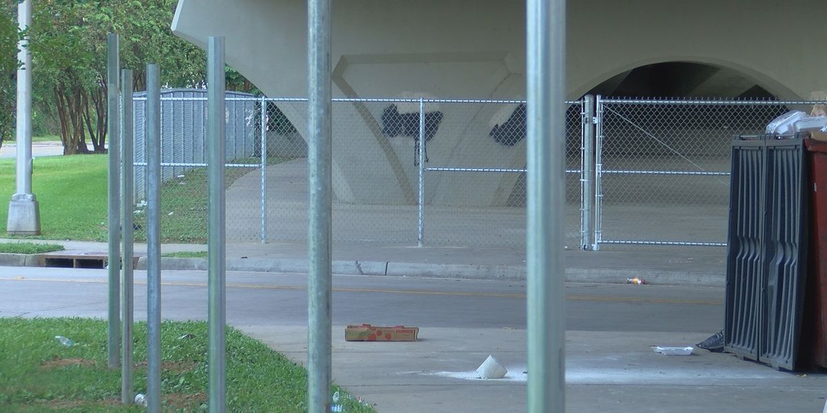 New fencing puts organization's efforts to serve Baton Rouge homeless community in jeopardy