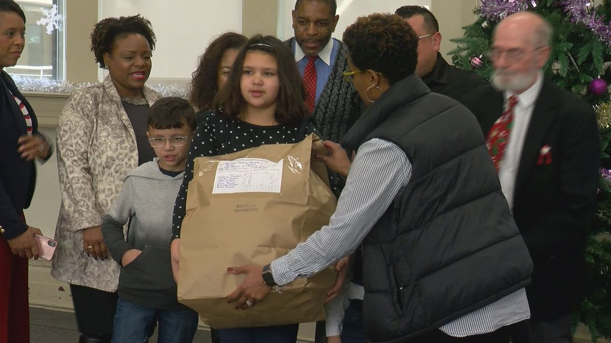 Christmas comes early for two elementary schools