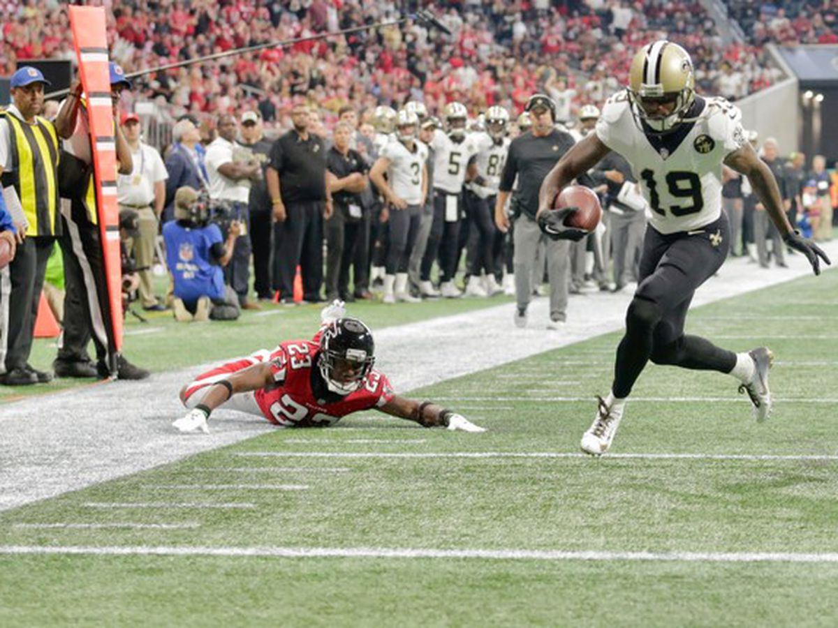 Saints WR Ted Ginn, Jr. placed on IR
