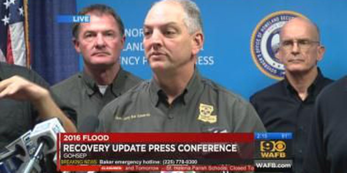 Government Officials Hold News Conference