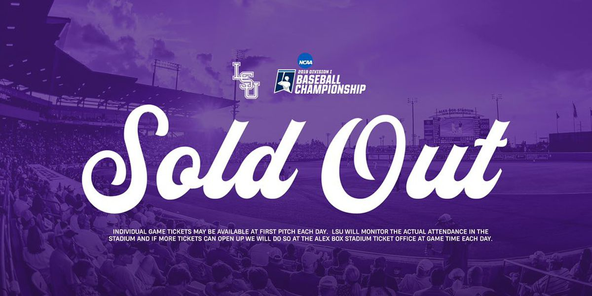 LSU Super Regional tickets sell out in 15 minutes