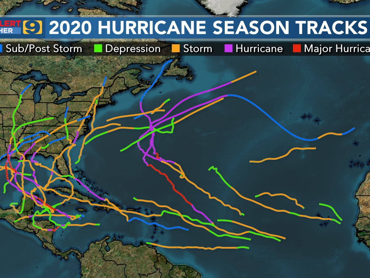 U.S. sees record breaking hurricane season in 2020, what could this mean for years to come in Louisiana