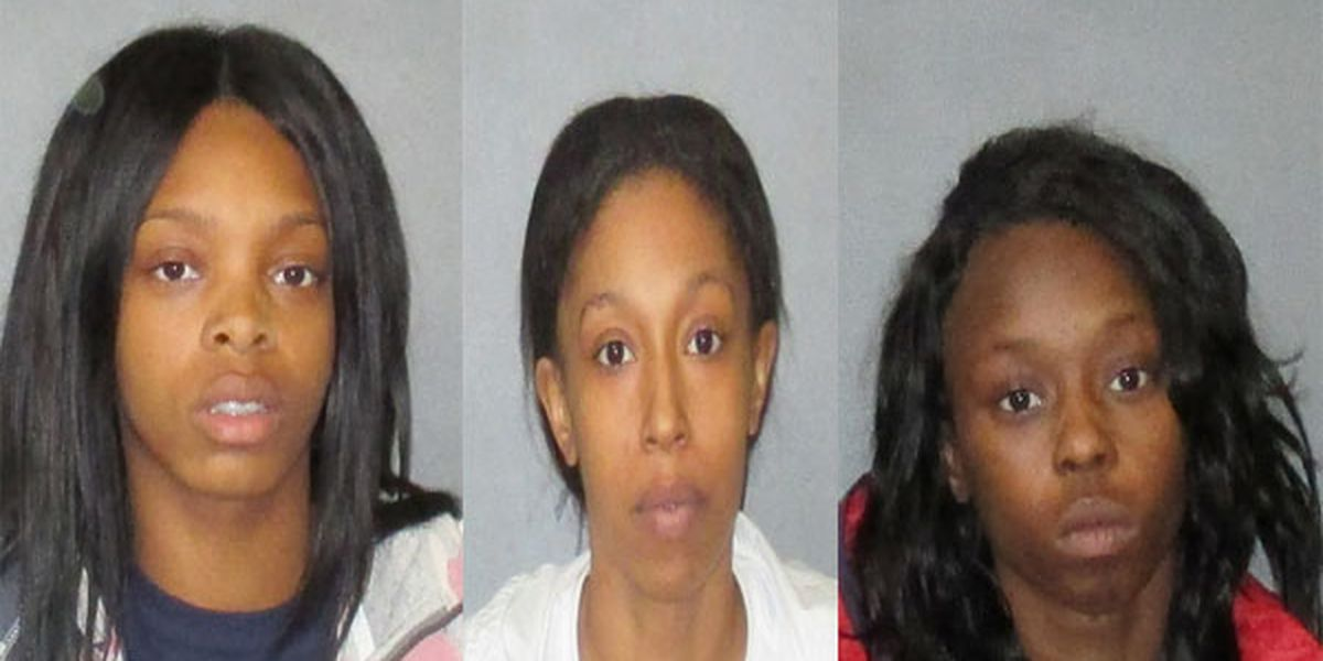 Police arrest trio of suspected holiday shoplifters; at least 2 others sought
