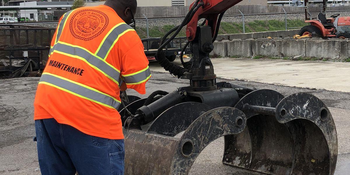 Baton Rouge crews identifying flood-prone spots ahead of severe weather