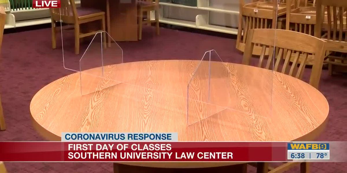 Southern University Law Center reopens-6:30am
