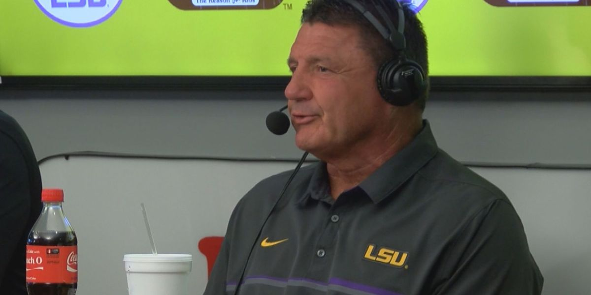 Orgeron receives high praise from LSU fans during weekly radio show