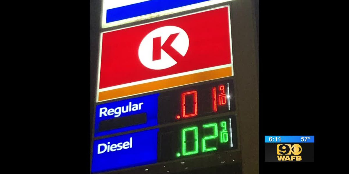 Drivers cash in on gas being sold for a penny due to error at pump