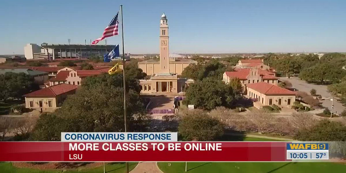 LSU announces spring intersession, summer courses to be held online