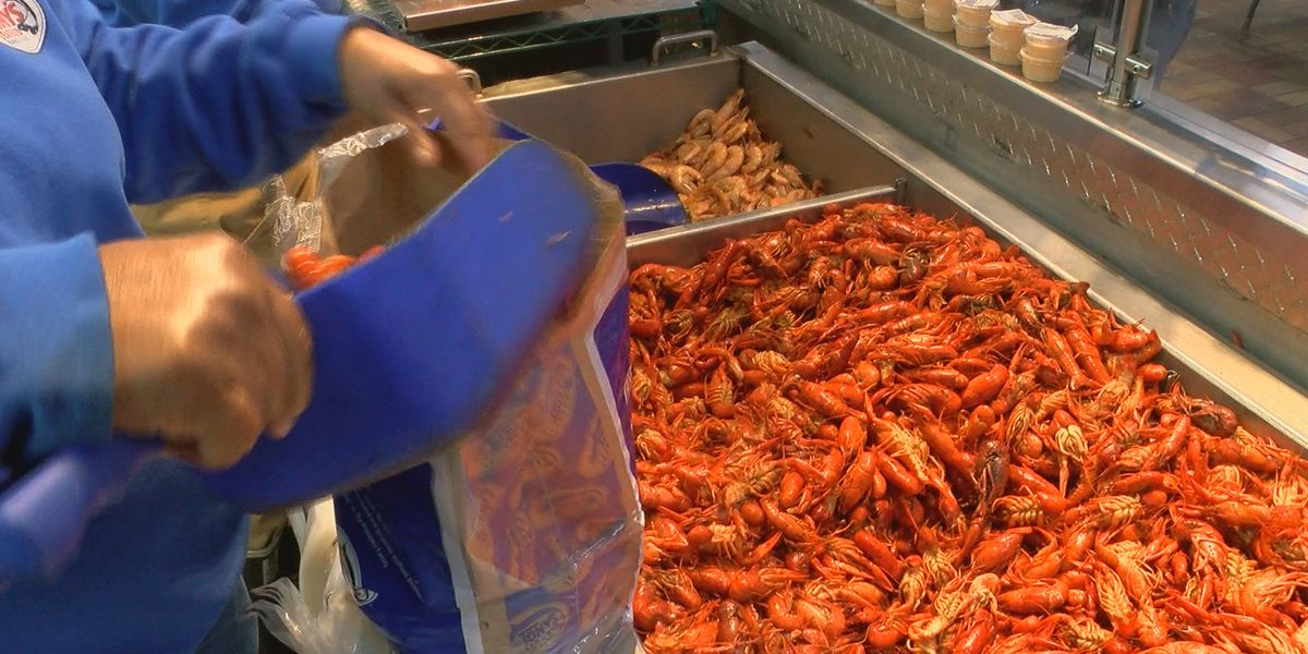 Crawfish prices dip as season ramps up
