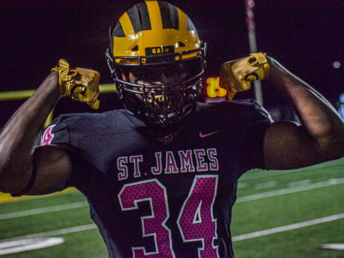 St. James DE Saivion Jones commits to LSU