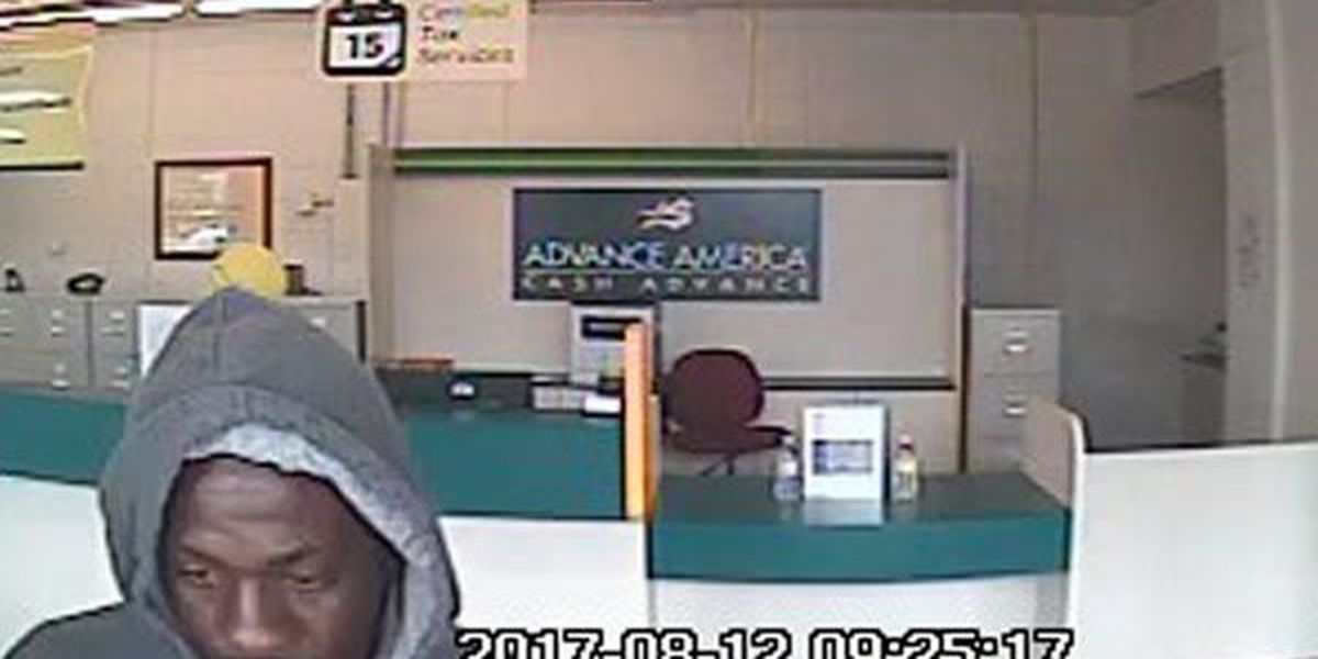 WANTED: Robbery suspect gets away with cash from Gonzales business