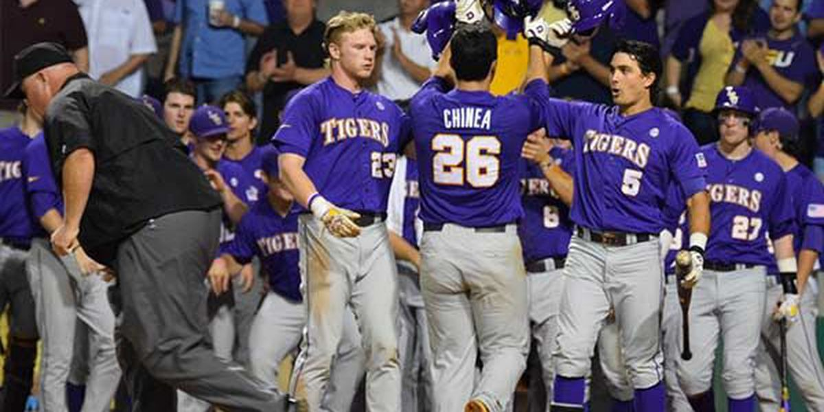 Chinea, Lange and defense lead LSU past Mizzou 8-2