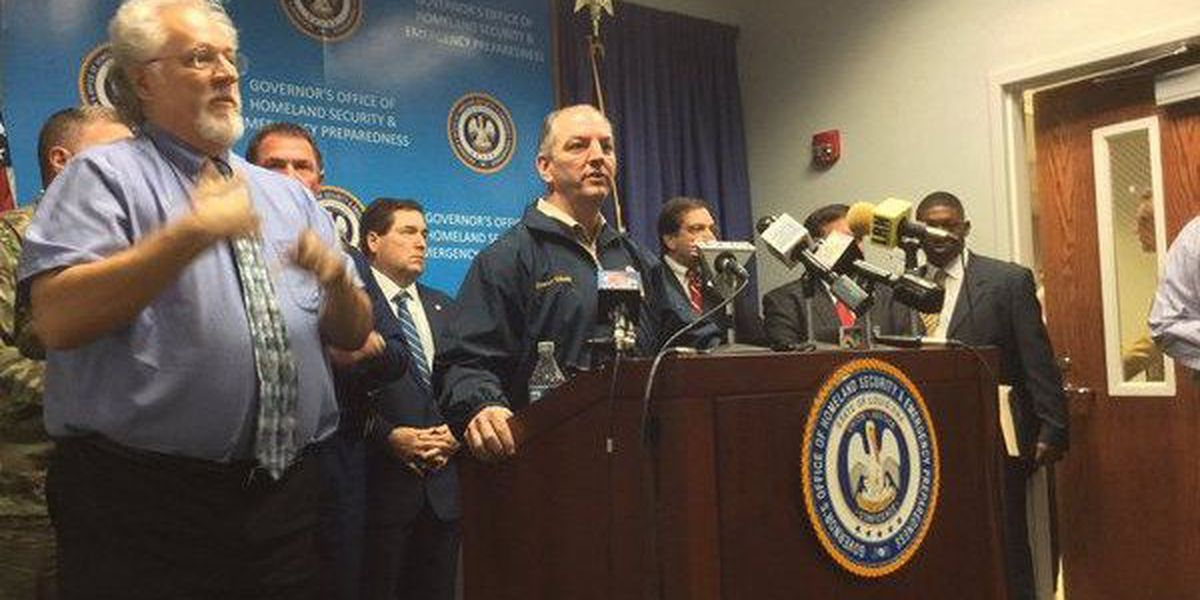 Gov. Edwards issues statewide emergency declaration due to severe weather