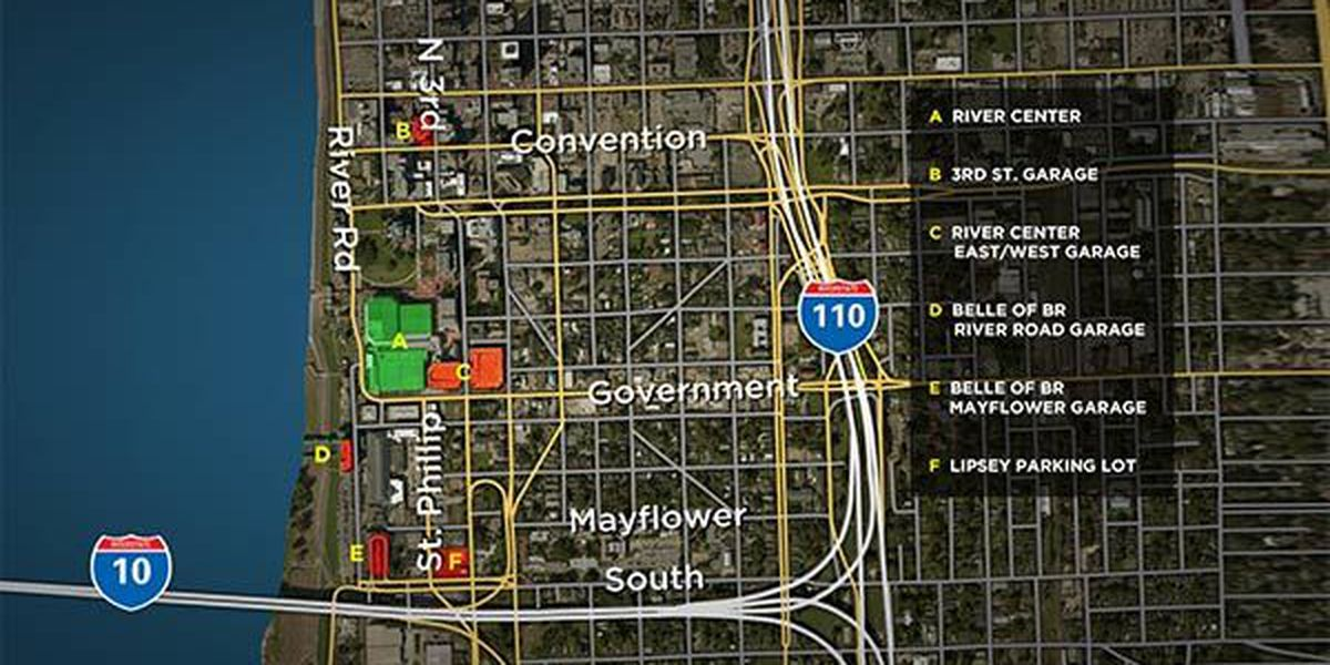 Parking, Traffic warning for Saturday events in Downtown Baton Rouge
