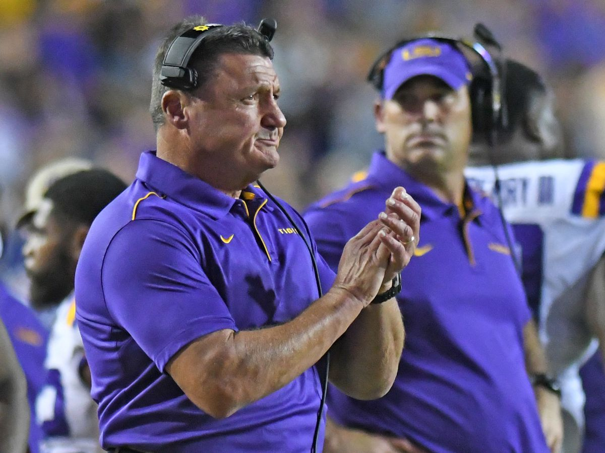 Orgeron gives final updates before LSU faces Mississippi State