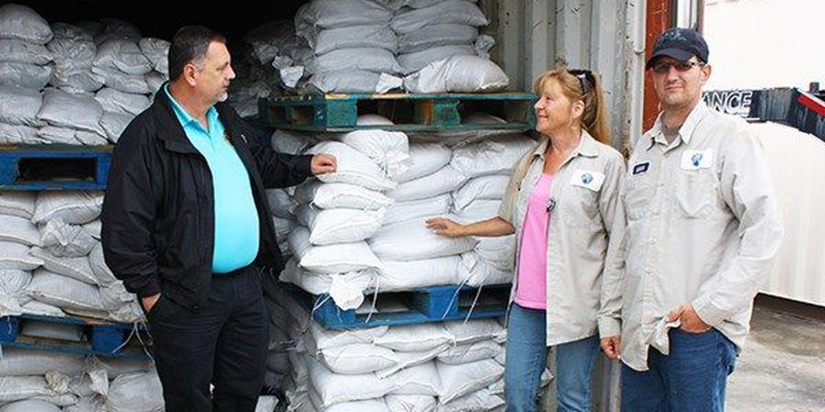 Ascension Parish announces sand bag availability