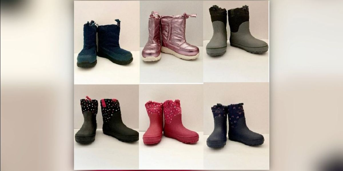 Target recalls toddler boots for possible choking hazard